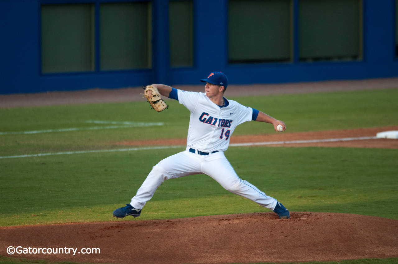 Bobby Poyner will get the ball to kick off the 100th season of Gator baseball.