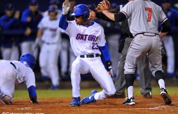 Thrilling comeback gives Florida Gators series win