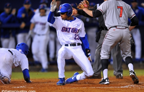 Gators walk-off with 4-3 win over Canes