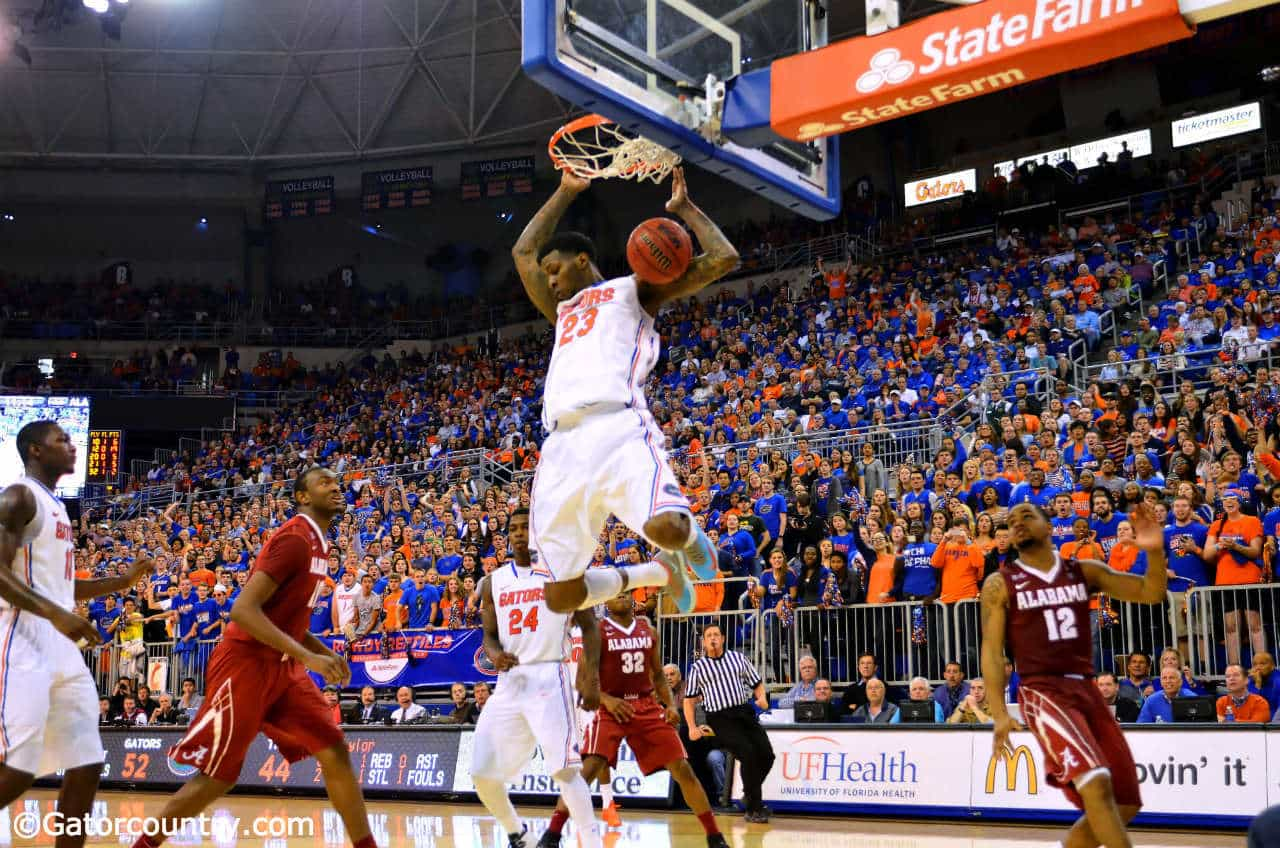 Chris Walker could be Florida's best low post scorer since Al Horford next season / Gator Country Photo by David Bowie