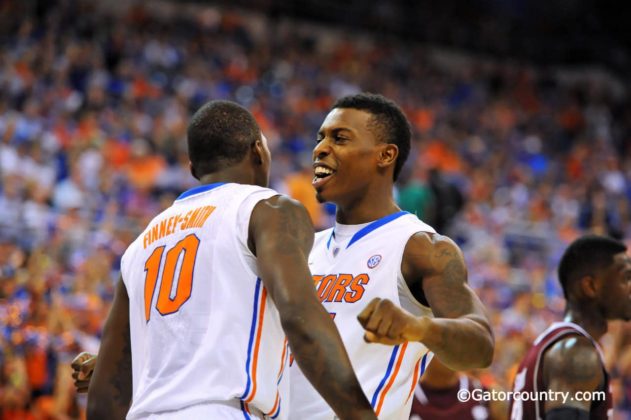Will Dorian Finney-Smith and Casey Prather have a chance to celebrate a 16th straight win tonight in Knoxville? / Gator Country Photo by David Bowie