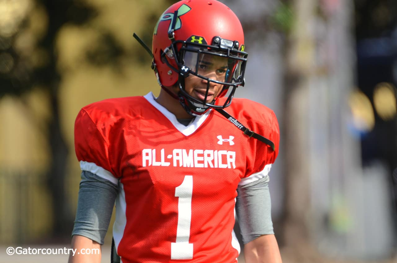 Jalen Tabor was one of 11 players Will Muschamp flipped from other schools to Florida in the recruiting class of 2014.