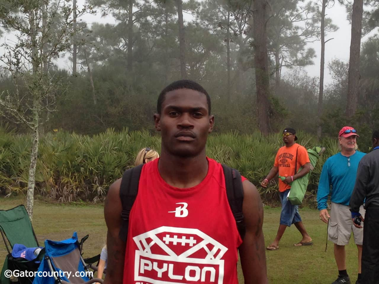 Jovon Durante is committed to West Virginia but listening to what Florida has to say.