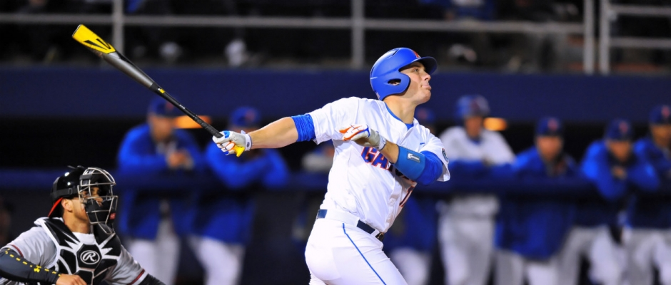 Canes power past Gators, 6-4