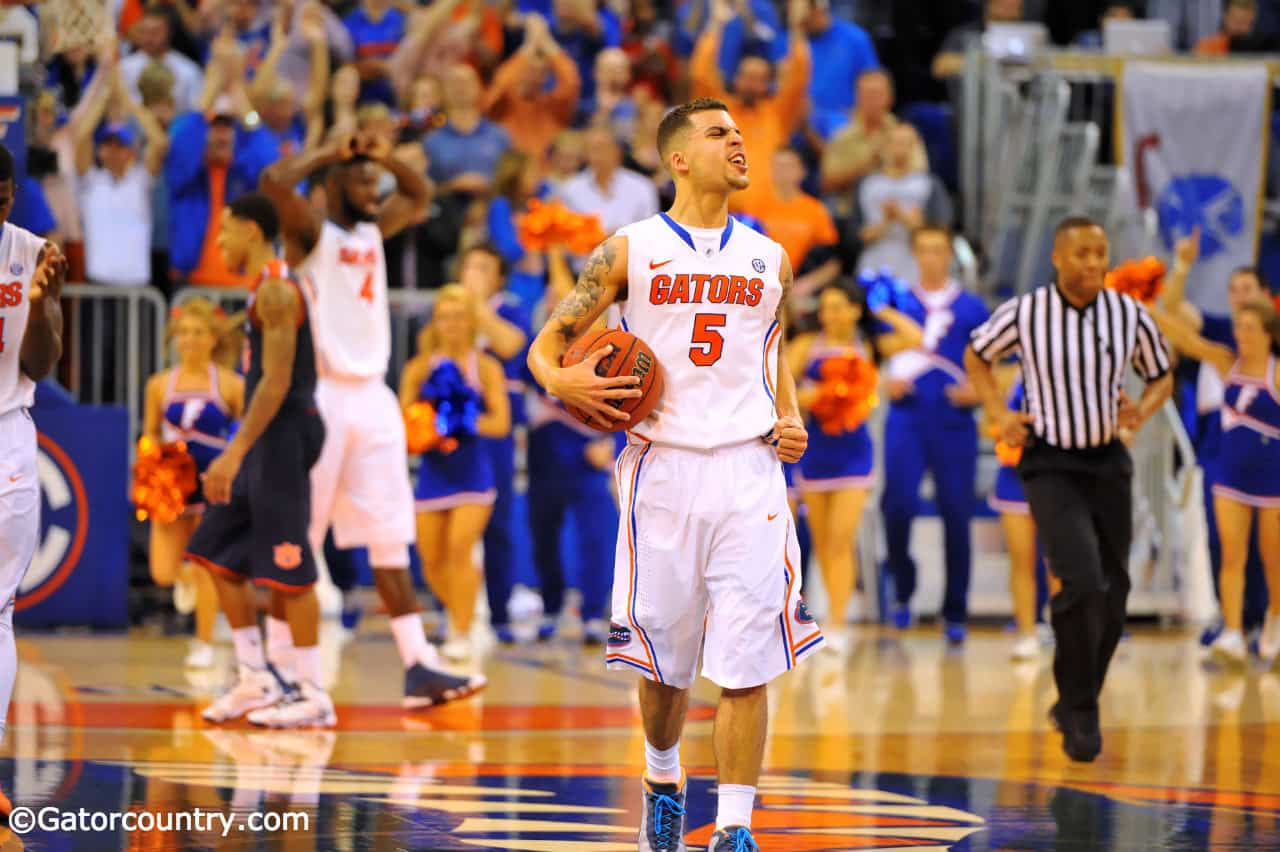 Scottie Wilbekin just might be the best all-around player remaining in the NCAA Tournament / Gator Country Photo by David Bowie