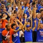 The Men's Basketball Rowdies is the name of the official student fan club of Florida's basketball team.