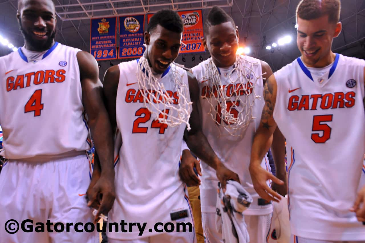 Billy Donovan dared the Gators to be great and the seniors bought in / Gator Country Photo by David Bowie