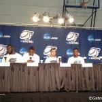 Florida's four seniors prepare for the NCAA tournament.