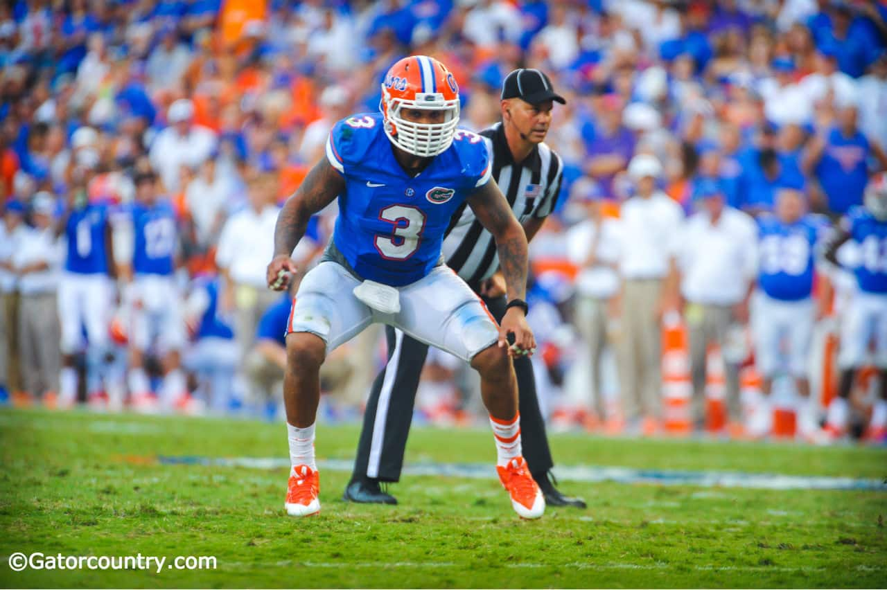 Antonio Morrison leads by example. / Gatorcount