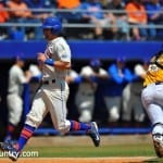 Braden Mattson scores on Sunday against LSU.