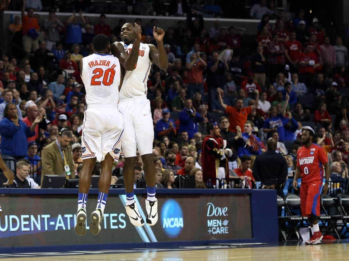MIchael Frazier (20) and Dorian Finney-Smith will be two of the key returnees for Florida's 2014-15 basketball team / Photo: Nelson Chenault-USA TODAY Sports