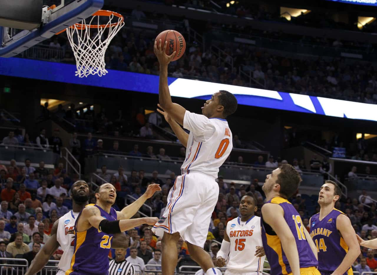 Kasey Hill had a terrific game for the Gators against UCLA Thursday night / Photo: Kim Klement-USA TODAY Sports