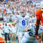 Jeff Driskel (6) needs to end spring practice on a high note / Gator Country photo by David Bowie