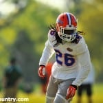 Marcell Harris spring practice_149