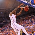 Casey Prather goes in for a second half dunk in Florida's 79-61 win over LSU Saturday / Gator Country photo by David Bowie