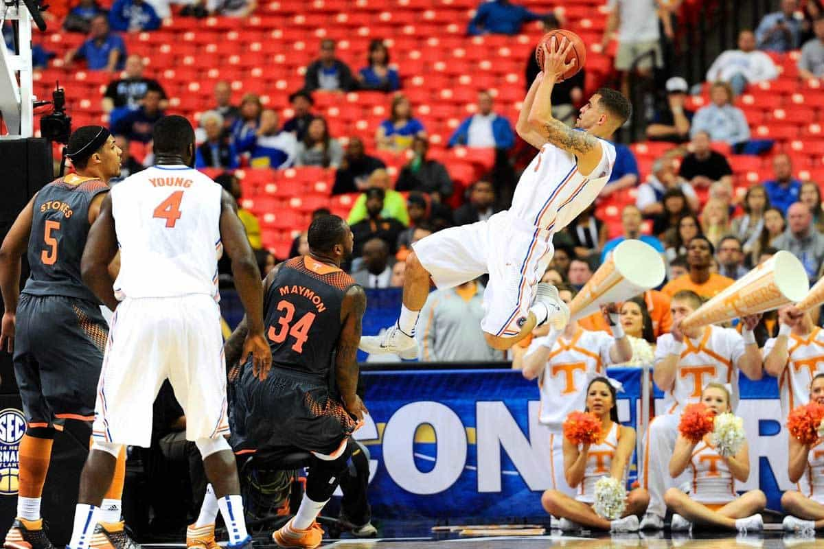 Scottie Wilbekin was named SEC Player of the Year by the Associated Press on Monday / Photo: Dale Zanine-USA TODAY Sports