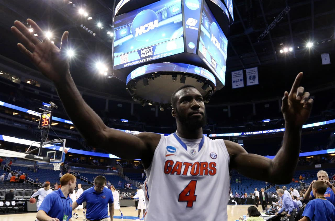 Florida won its 28th straight game over Pitt in the third round of the NCAA Tournament Saturday / Photo: Kim Klement-USA TODAY Sports