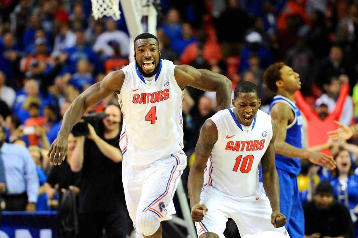 There is reason to be excited about the Gators. They're on the way to the Sweet 16 / Photo: Dale Zanine-USA TODAY Sports