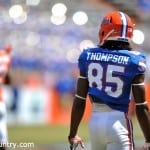 Chris Thompson Orange and Blue Debut
