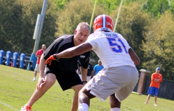 D.J. Durkin talks Florida Gators defense