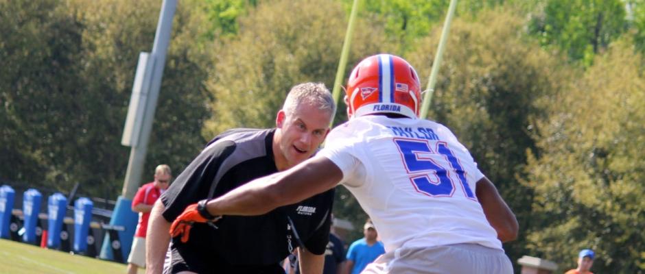 D.J. Durkin talks Florida Gators defense