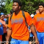 Dante Fowler gator walk orange & blue debut-31