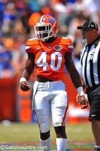 Jarrad Davis orange and blue debut_136