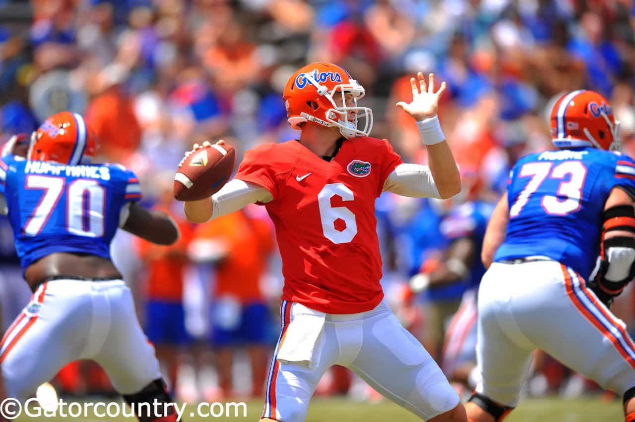 Jeff Driskel orange and blue debut_137