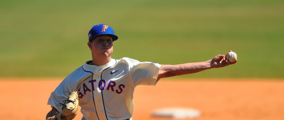 Gators cap off road trip with 7-1 win