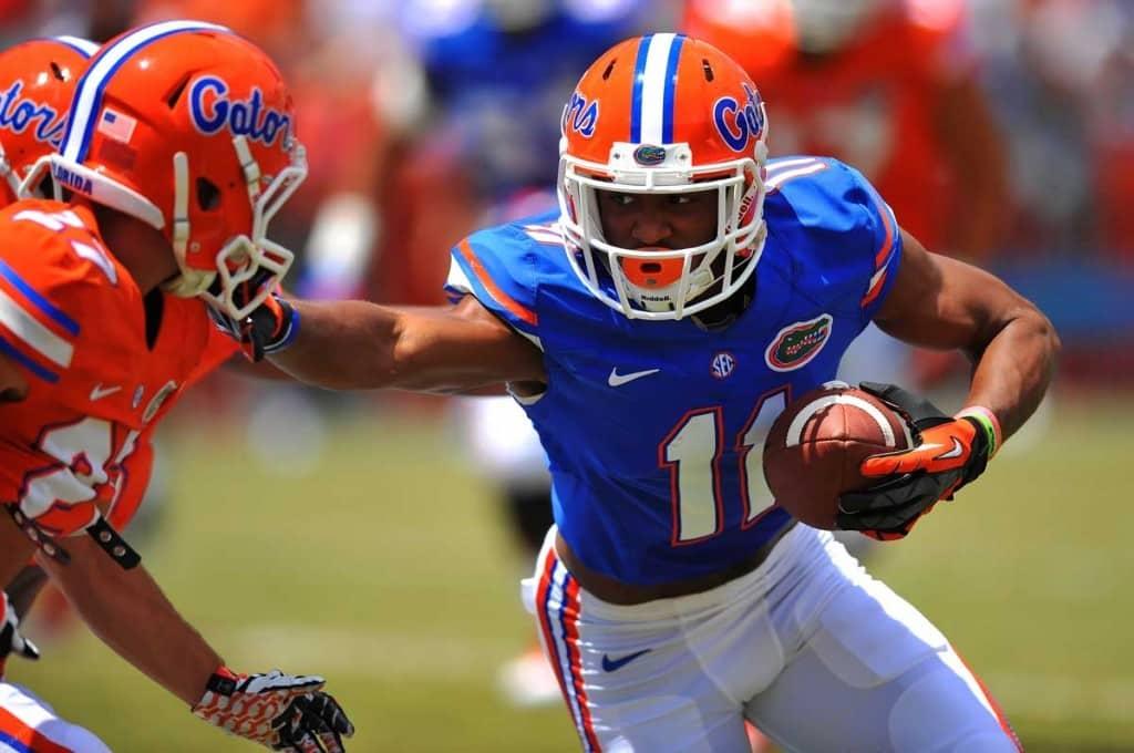 Demarcus Robinson, Florida Gators, University of Florida, Ben Hill Griffin Stadium, Gainesville, Florida