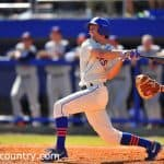 Ryan Larson's fourth RBI of the season walked the Gators off with a weekend sweep of Missouri.