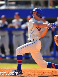 Gators clinch baseball series with a 2-1 win