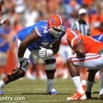 Trenton Brown's move to guard could help the Gators have the best interior of the offensive line since 2008 / Gator Country Photo by David Bowie.