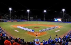 Florida Gators, University of Florida, McKethan Stadium, Gainesville, Florida