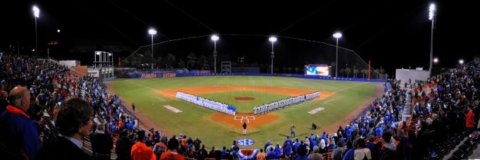 Florida Gators, University of Florida, McKethan Stadium, Gainesville, Florida