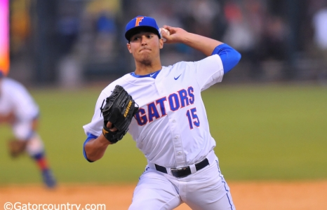 Pitching powers Gators to SEC semifinal