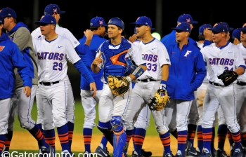 Second inning powers Gators past USF