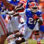Can Kelvin Taylor and Matt Jones eclipse the 1,000-yard rushing mark this season? / Gator Country photo by David Bowie