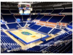 An early rendering of what the O'Connell Center could look like after the renovation. / Photo provided by GatorZone.com