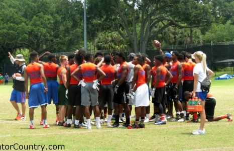 Will Muschamp Camp Week 2