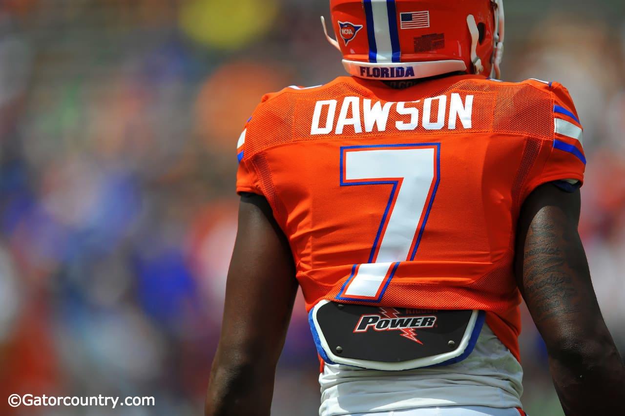 Duke Dawson will fight for a starting job as a freshman this season. / Photo by David Bowie.