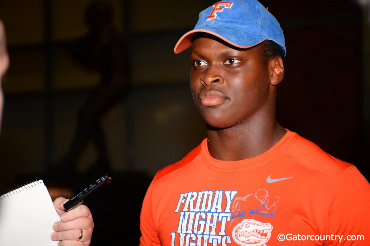 Shaquille Quarterman enjoyed his visit to Gainesville for Friday Night Lights. / Photo by David Bowie.