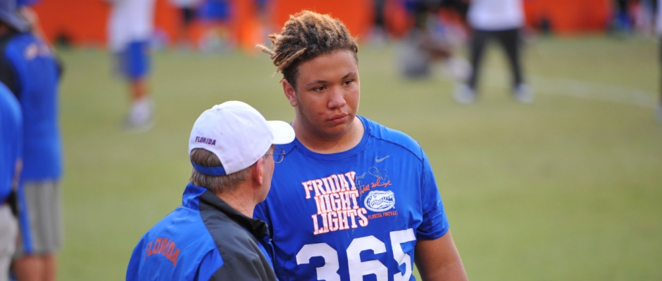 Florida Gators coaches recruiting on Friday