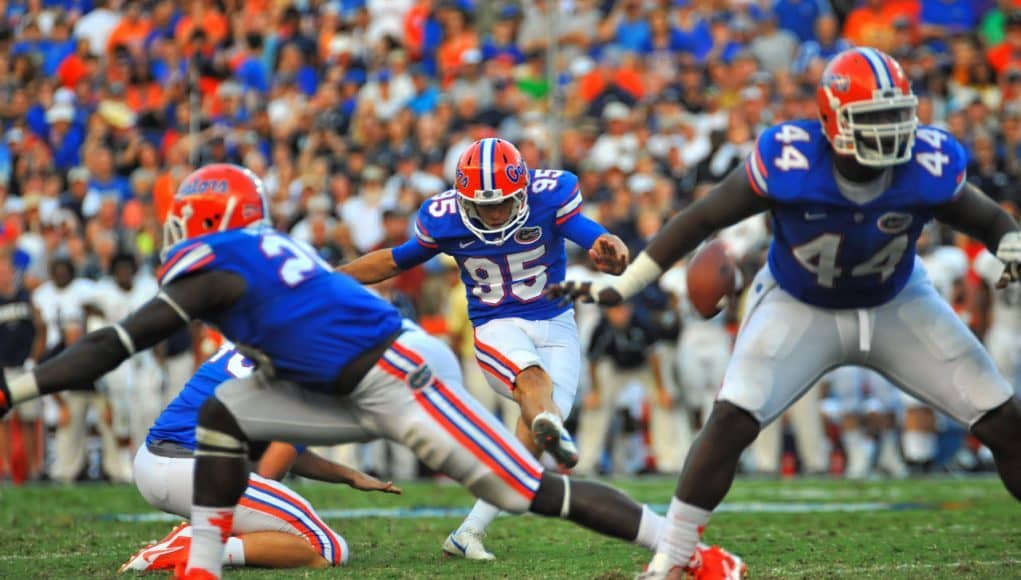 Florida Gators: Florida vs Georgia Southern in The Swamp - Gainesville, Florida - Nov, 2013