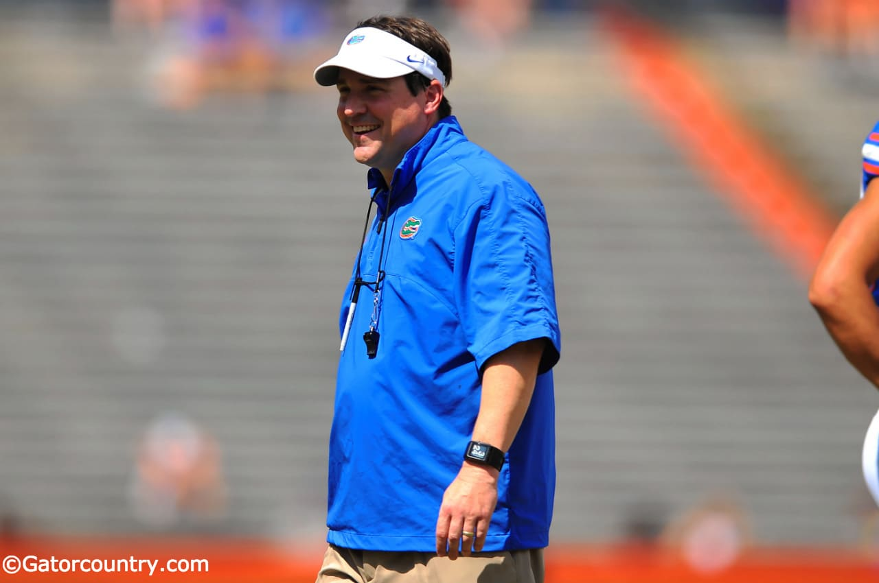 Will Muschamp is ready to get the 2014 season started. / Photo by David Bowie