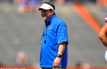 Notebook: Muschamp talks day one of camp