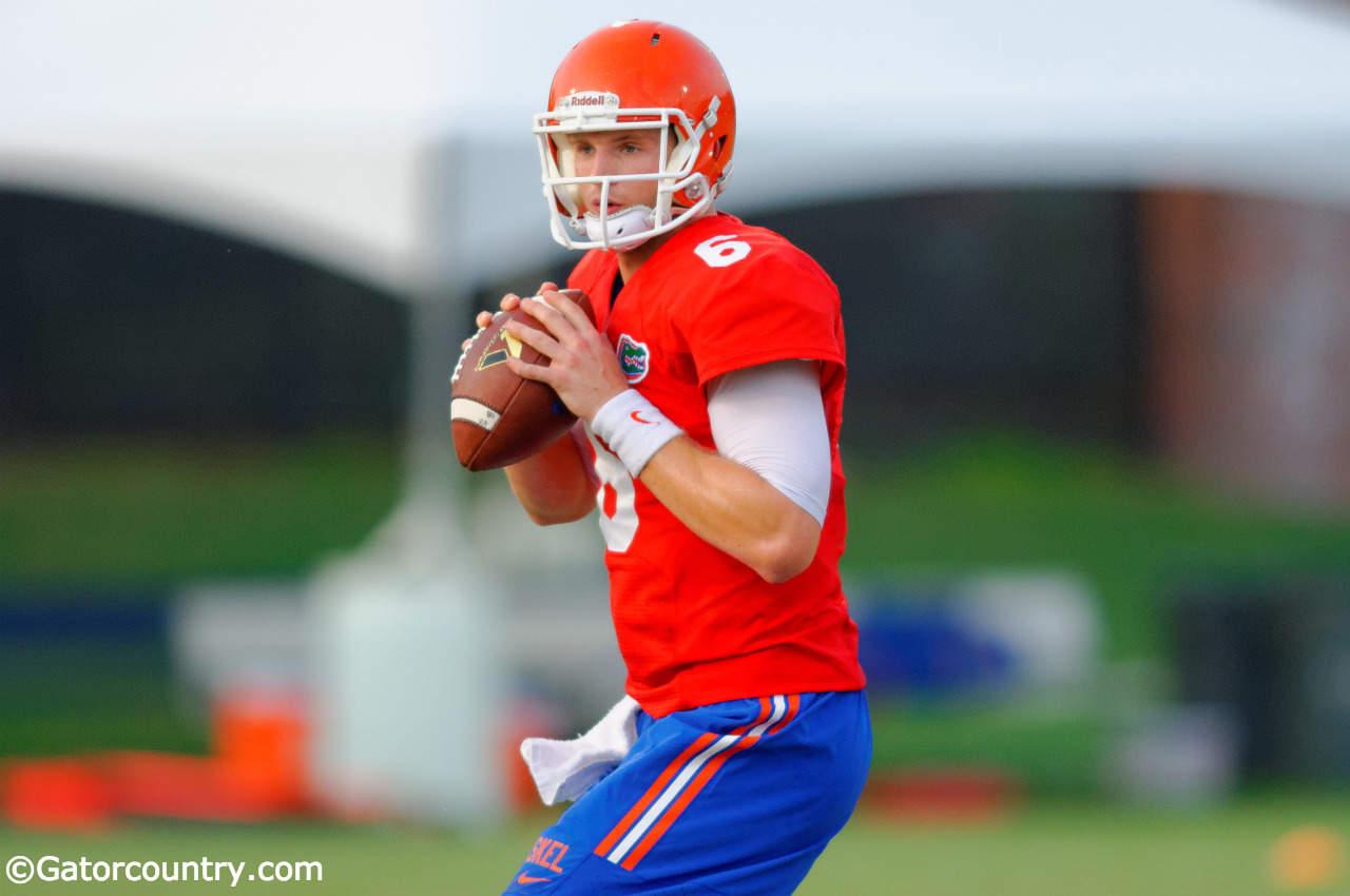 Florida Gators quarterback Jeff Driskel has impressed Kurt Roper.