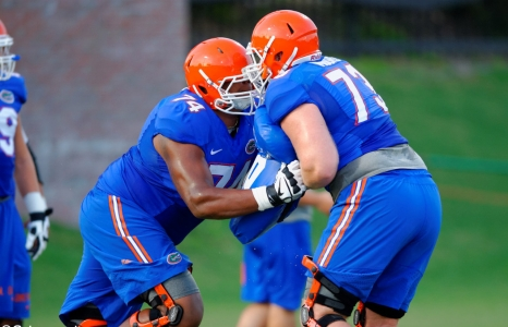 Position battles rage on for Florida Gators