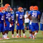 Expect a healthy running back rotation for the Florida Gators this fall. / Photo by David Bowie