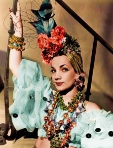 Carmen Miranda Brazilian Bombshell That night in Rio